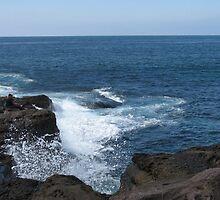 CRASHING WAVES by kazaroodie