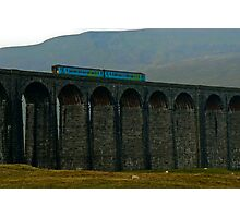 High on Ribblehead Viaduct Photographic Print