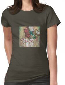 """Dance of the Eastern Wind""  from the series ""In the Lotus Land"" Womens Fitted T-Shirt"