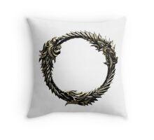 The Elder Scrolls: Online logo Throw Pillow