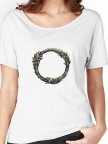 The Elder Scrolls: Online logo Women's Relaxed Fit T-Shirt