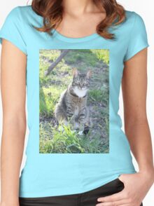 Mishu Women's Fitted Scoop T-Shirt