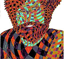 Jerry Garcia Psychedelic by indusdreaming