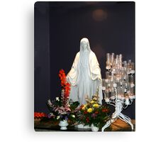 Statue of Mary Canvas Print