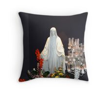 Statue of Mary Throw Pillow