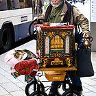 Swiss organ grinder & friend by Alexander Meysztowicz-Howen