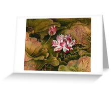 """""""Right to Live"""" from the series """"In the Lotus Land"""" Greeting Card"""