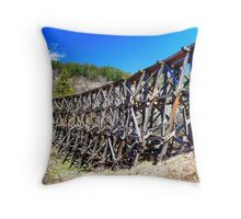 Mexican Canyon Trestle Throw Pillow