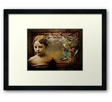 ArT Is A Pigment Of Your Imagination Framed Print