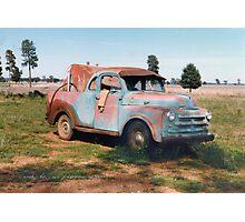 The Fuel Truck © Vicki Ferrari Photography Photographic Print