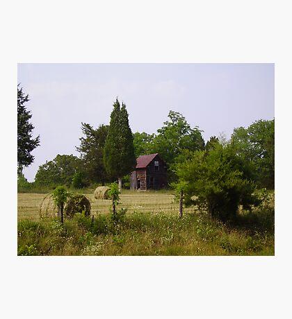 Roadside Farm Photographic Print
