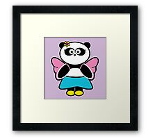 Betsy with flower in her hair Framed Print