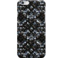 Abstract metallic armor iPhone Case/Skin