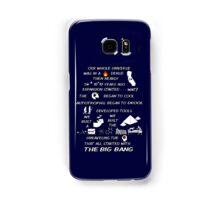 BIG BANG THEORY THEME SONG Samsung Galaxy Case/Skin