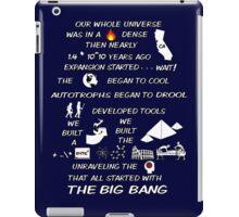 BIG BANG THEORY THEME SONG iPad Case/Skin