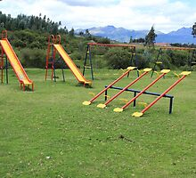 Playground in a Park by rhamm