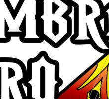 Dombra Hero Sticker