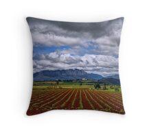 Rural Mount Roland Throw Pillow