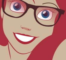 Ariel Hipster Disney Sticker