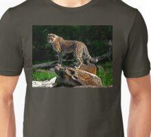Cheetah Cub Finds Her Pride Rock Unisex T-Shirt