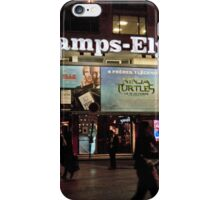 Champs Elysees By Night iPhone Case/Skin