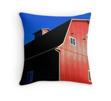 Barn Horizon Throw Pillow