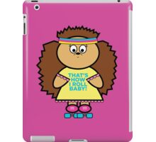 Meredith rollerskating iPad Case/Skin