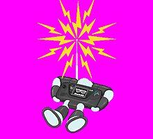 "8 Bit Buzz Bot v2.0.2 ""GearRoid"" by atombat"
