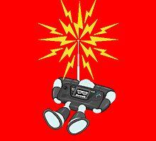 "8 Bit Buzz Bot v2.0.3 ""GearRoid"" by atombat"