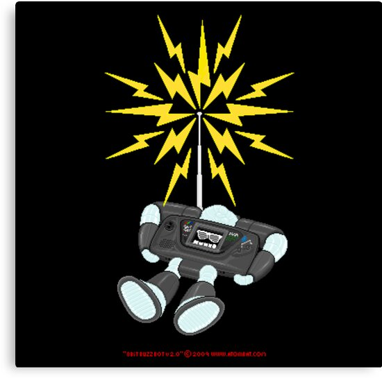 "8 Bit Buzz Bot v2.0.4 ""GearRoid"" by atombat"