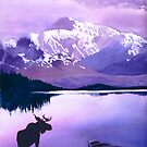 """Purple Majesty"" Watercolor by Paul Jackson"