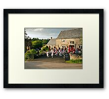 On a warm evening in May Framed Print