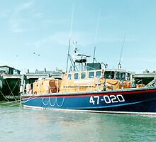Tyne Class Lifeboat  47-020 by Edward Denyer