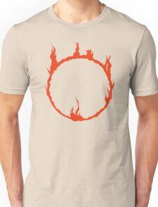 Dark Sign - Red  Unisex T-Shirt
