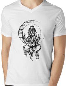 Ganesh Mens V-Neck T-Shirt