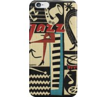 the jazz rythm iPhone Case/Skin
