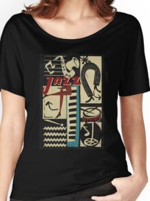 the jazz rythm Women's Relaxed Fit T-Shirt