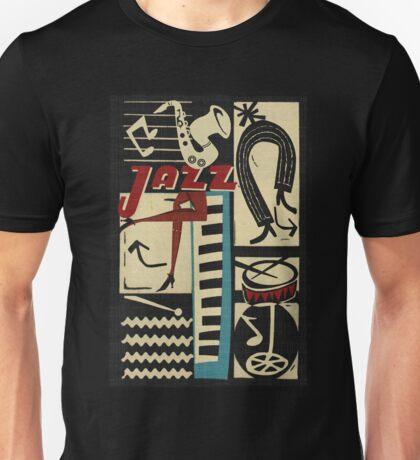the jazz rythm Unisex T-Shirt