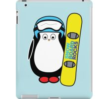 Hugo snowboarding iPad Case/Skin