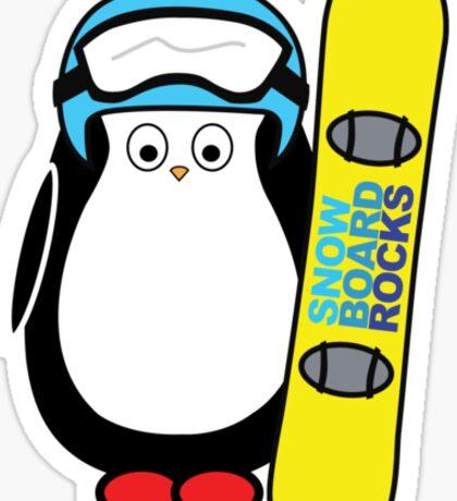 Hugo snowboarding Sticker