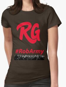 RG With RobARMY Red Womens Fitted T-Shirt