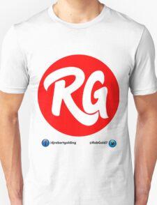 RG Logo Original Red With Social Links  T-Shirt