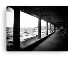 Such is the romance of the sea Canvas Print