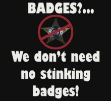 STINKING BADGES by Paul Quixote Alleyne