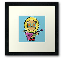 Victor the rockstar Framed Print