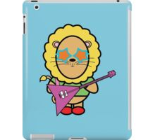 Victor the rockstar iPad Case/Skin