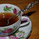Vintage cup and saucer by Sheri Nye