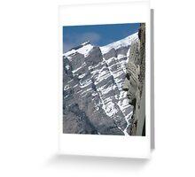 Banff Indian Greeting Card