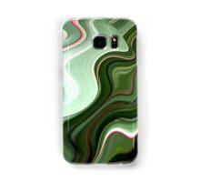 Green Swirls  Samsung Galaxy Case/Skin