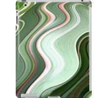 Green Swirls  iPad Case/Skin